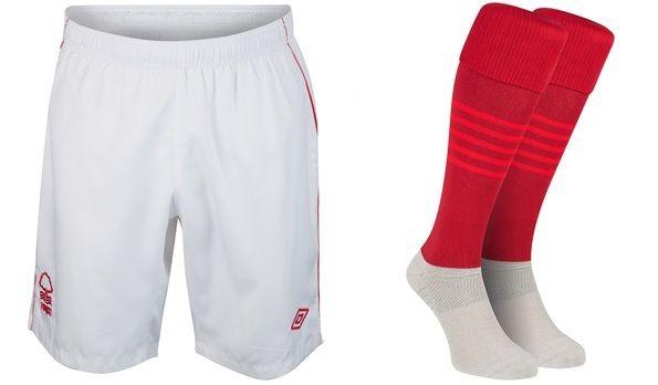 Pantaloncini  e calzettoni del Forest 2012-2013