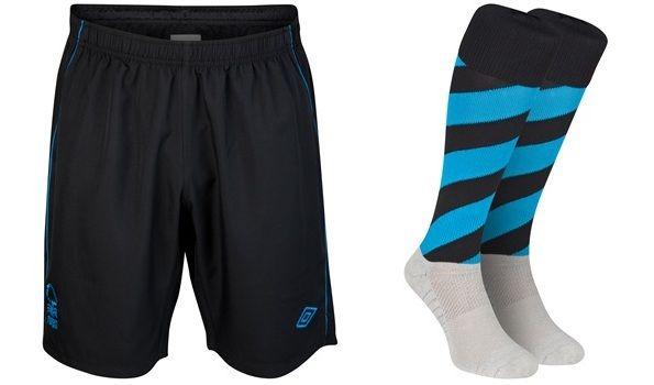 Pantaloncini e calzettoni da trasferta del Nottingham Forest 2012-2013