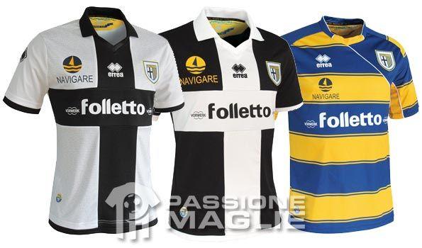 Maglie Parma 2012-2013
