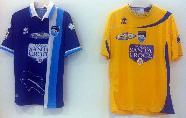 Seconda e terza maglia Pescara 2012-13