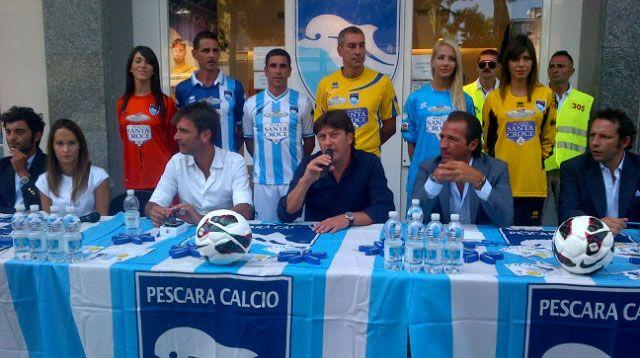 Presentazione maglie Pescara