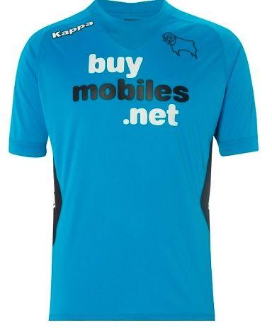 La probabile terza maglia del Derby County 2012-2013