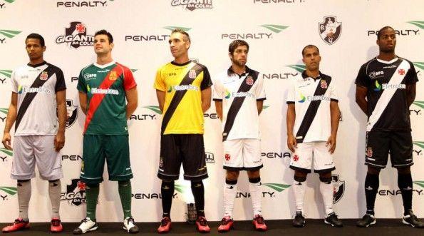 Kit Vasco da Gama 2012 Penalty