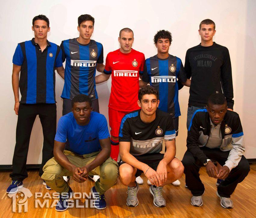 La nuova collezione di Nike per l'Inter 2012-2013