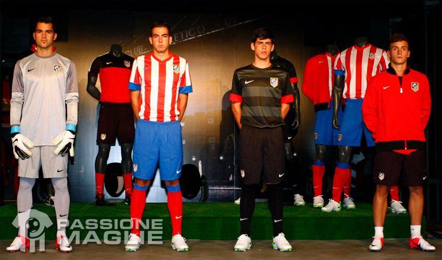 Divise Atletico Madrid 2012-2013 Nike