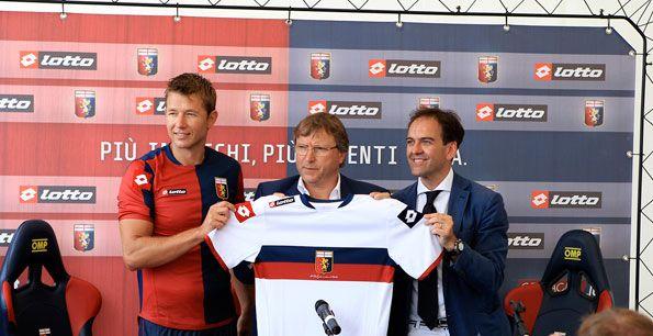 Presentazione kit Genoa Lotto