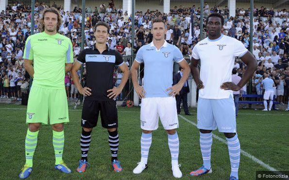 Formello presentazione kit Lazio 2012-13