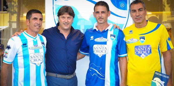 Presentazione kit Pescara 2012-2013