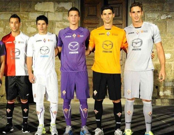 Maglie portiere Fiorentina 2012-2013