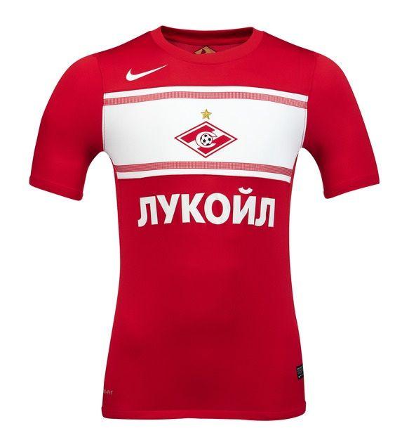 La prima maglia dello Spartak Mosca 2012-2013