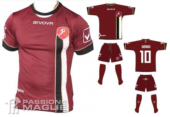 Reggina maglia home 2012-2013