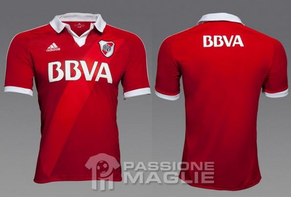 Seconda maglia River Plate 2012
