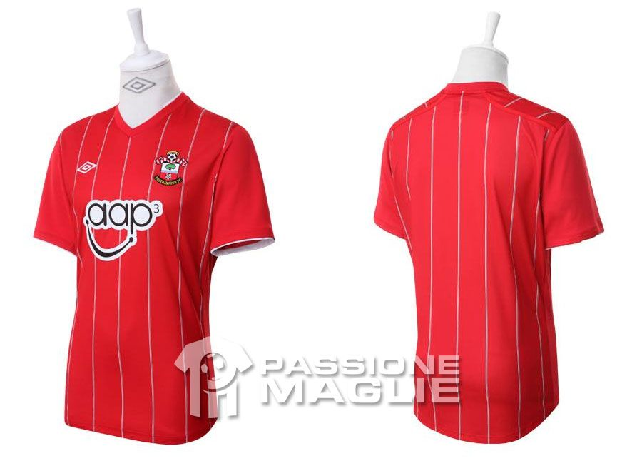 Southampton prima maglia Umbro 2012-2013