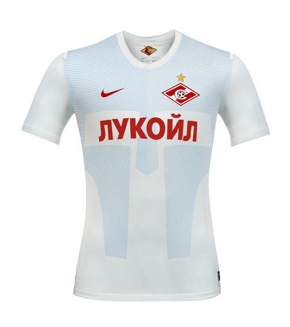 La maglia da trasferta dello Spartak Mosca  2012-2013