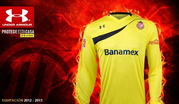 Maglia portiere Toluca 2012-13