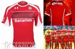 Deportivo Toluca prima maglia 2012-2013