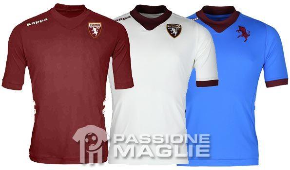 Maglie Torino 2012-2013