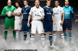 Tottenham kits 2012-2013