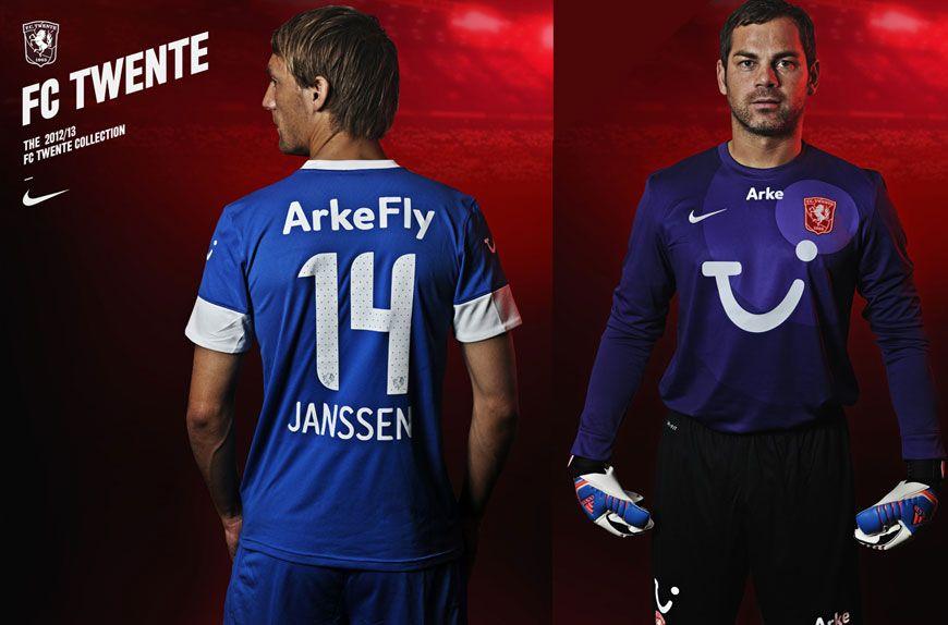 Twente maglia away e portiere 2012-2013