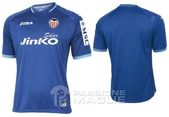 Seconda maglia Valencia 2012-2013