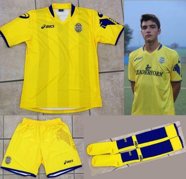 Hellas Verona seconda maglia 2012-2013