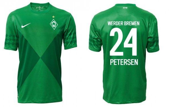 Divisa casalinga Werder Brema 2012-2013