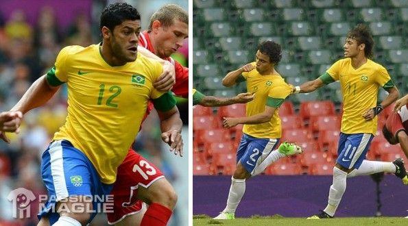 Brasile maglia Olimpiadi 2012