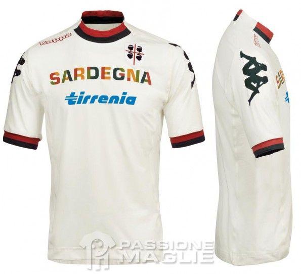 Cagliari maglia trasferta 2012-2013