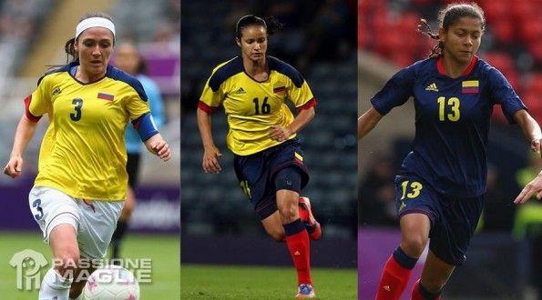 Colombia maglie Olimpiadi 2012 femminile