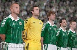 Kit Irlanda del Nord 2012-13