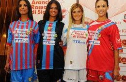 Maglie Catania ufficiali 2012-2013 Givova