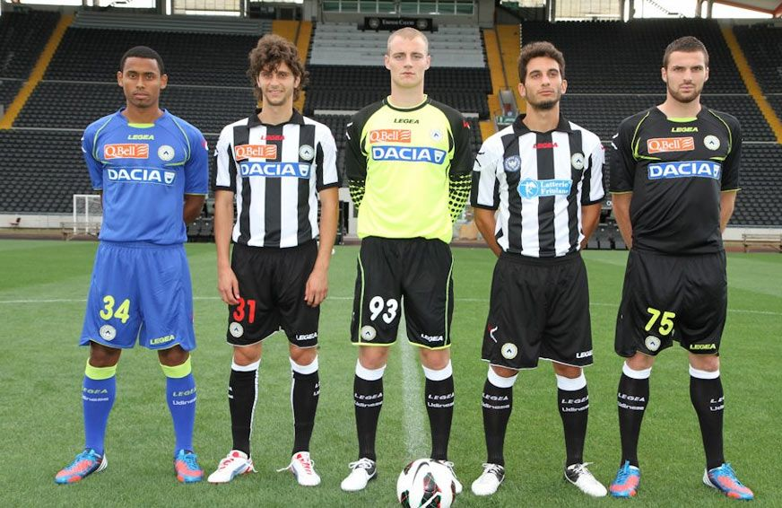 Maglie Udinese 2012-2013