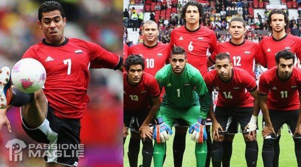 Egitto kit Olimpiadi 2012