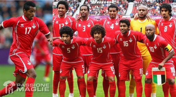 Emirati Arabi Uniti maglia Londra 2012
