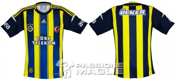 Prima maglia Fenerbahce 2012-2013