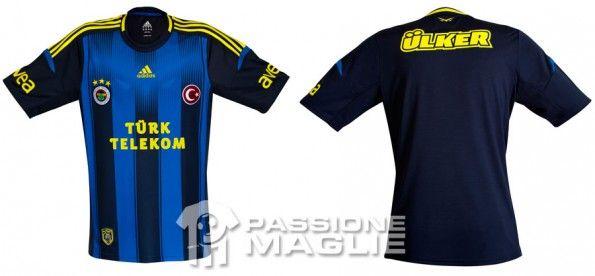 Terza maglia Fenerbahce 2012-13