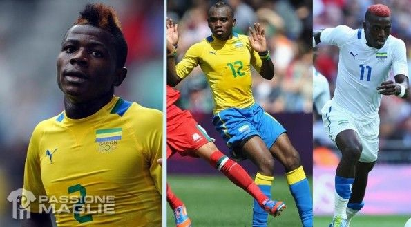 Maglie Gabon Olimpiadi 2012