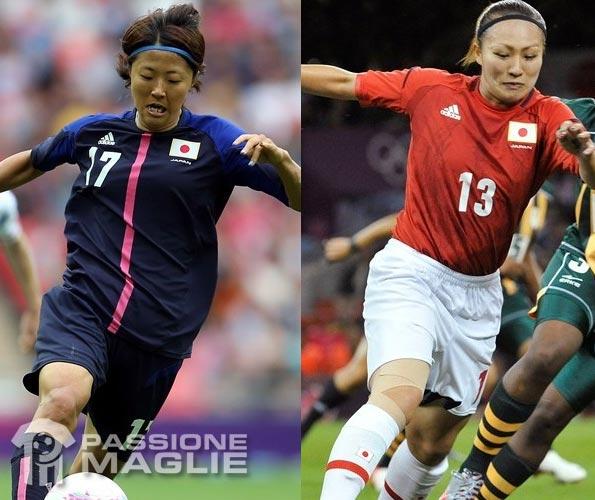 Divise Giappone 2012 femminile Olimpiadi 2012