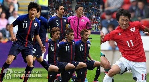 Maglie Giappone Olimpiadi 2012