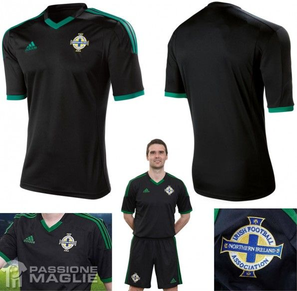 Irlanda del Nord seconda maglia 2012-2013