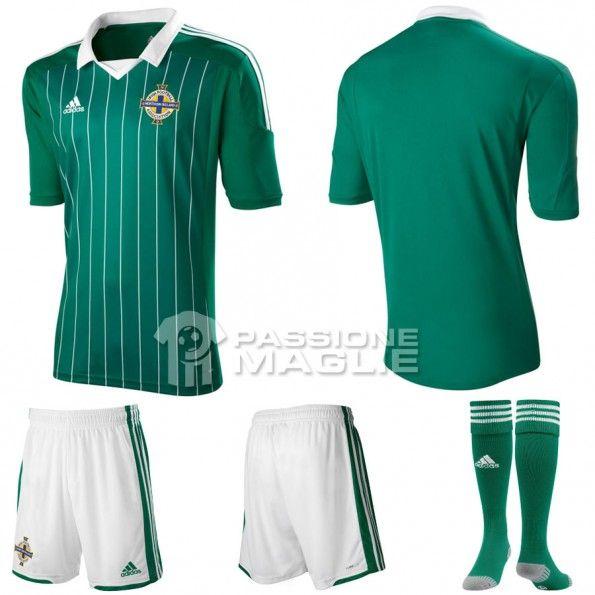 Prima maglia Irlanda del Nord 2012-13