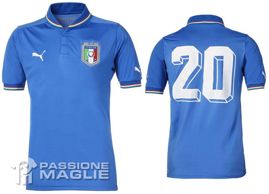 Maglia Italia celebrativa mondiale 1982