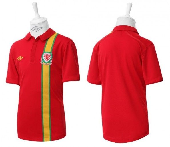 La maglia Tailored by Umbro del Galles per il 2012-2013