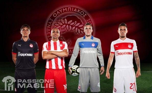 Olympiakos divise 2012-2013 Puma