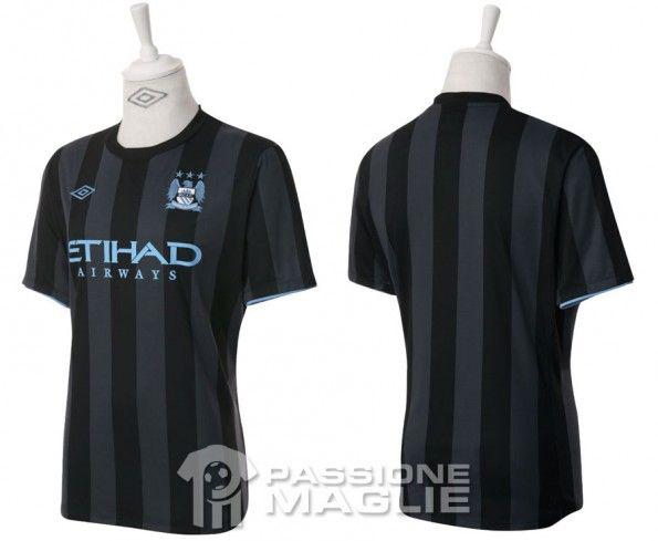 Seconda maglia City Champions 2012-13
