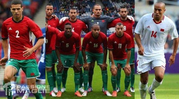 Maglie Marocco Olimpiadi 2012