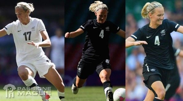 Maglie Nuova Zelanda femminile Olimpiadi 2012