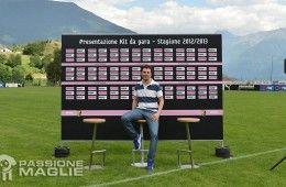Presentazione maglie Palermo 2012-13