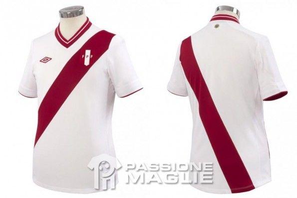 Prima maglia Perù 2012-2013