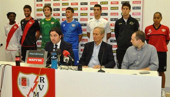 Presentazione divise Rayo Vallecano 2012-2013